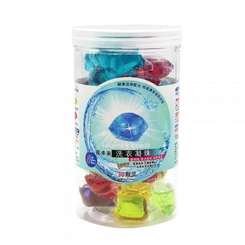 Laundry Detergent Gel Pods Mixed Colors 30pcs