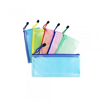 1/2 A5 Mesh Zipper Bag