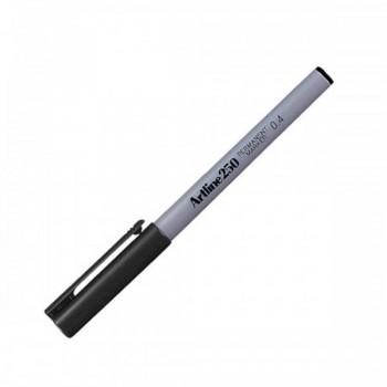 Artline 250 Permanent Marker EK-250 - 0.4mm Black