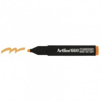Artline 660 Highlighter EK660 - Fluorescent Orange
