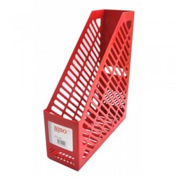 NISO Magazine Holder/Rack MH8215 - Red (Item No: B10-45-RD) A1R5B67