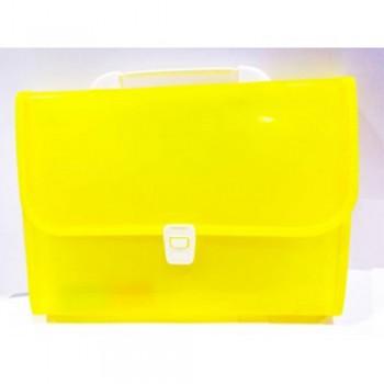 8702 Expanding File Yellow