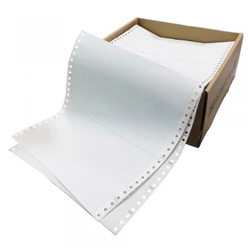 """Computer Form 2 ply 2 up NCR 9.5"""" x 11"""" (1000 Fans)"""