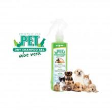 EOSG Pet Dry Shampoo Gel - Aloe Vera