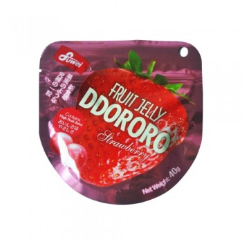 Fruit Jelly Ddororo (Strawberry ) 40g