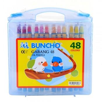 Buncho Gabang Oil Pastel - 48 Colors