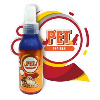 EOSG 7+ Pet Trainer (120ml) - Dog & Cat Training Spray, Indoor & Outdoor Use, Housetraining Aid for Puppies Dogs & Kittens Cats, Potty Training Spray, Potty Training Attractant - Semburan Latihan Kucing - 宠物猫狗训练喷雾剂 (Formulated in Japan)