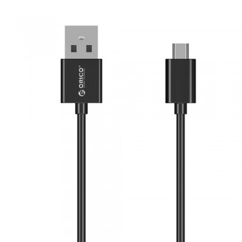 Orico ADC-10 1m Micro USB Fast Charging Data Cable - Black