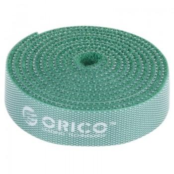 Orico CBT-1S Reusable Velcro Cable Ties 1M - Green
