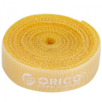 Orico CBT-1S Reusable Velcro Cable Ties 1M - Yellow