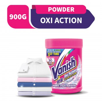 Vanish Fabric Oxi Action Stain Remover Powder 900g
