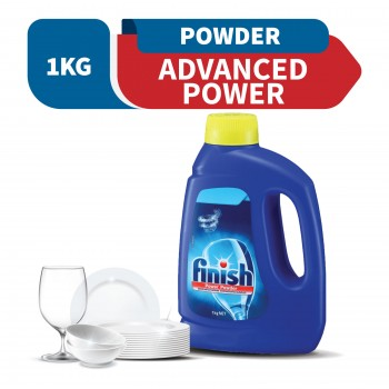 Finish Classic Dishwasher Powder Detergent Lemon 1kg
