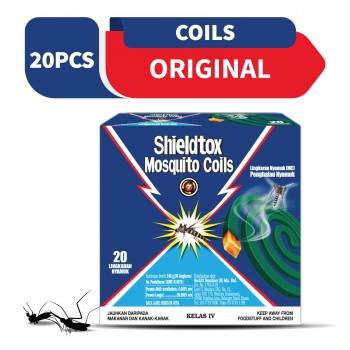 Shieldtox 8 hours Mosquito Coil 20 pieces