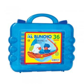 Buncho Gabang Oil Pastel - 36 Colors