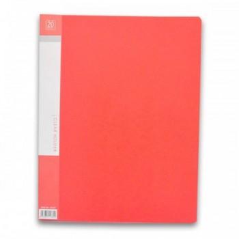 CBE 76020 Clear Holder A4 size - Red (Item No: B10-10 RD) A1R5B17