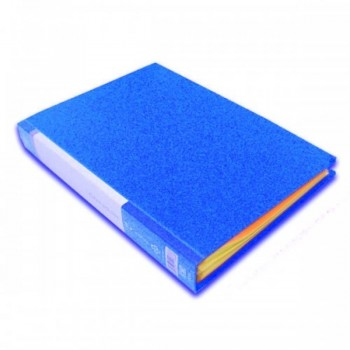 CBE 76060 Clear Holder A4 size - Blue (Item No: B10-12 BL) A1R5B18