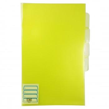 CBE 803F PP Document Holder (F4) Yellow (Item No: B10-101) A1R3B146