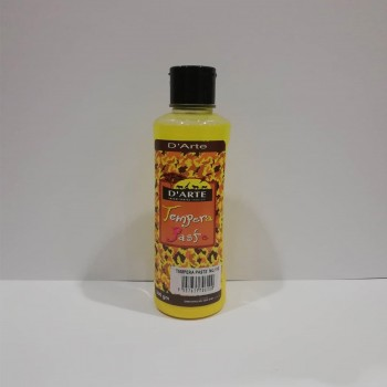 D'arte Tempera Paste Yellow 300gsm (110)