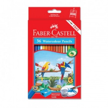 Faber Castell Watercolour Pencil 36L (Item No: B05-15) A1R2B143