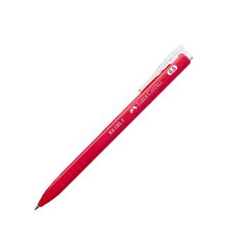 Faber Castell RX Gel Pen 0.5mm Red (249921)