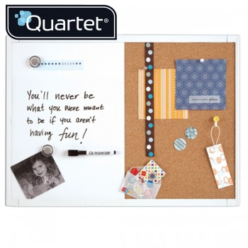 Quartet  White Frame Combination Board 21-580653Q