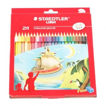 STAEDTLER Luna Aquarell - Watercolour Pencil 24L (Item No: B05-52) A1R2B180