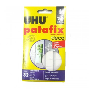 UHU Patafix Home Deco Glue Pads  (Item No: B04-28) A1R2B124