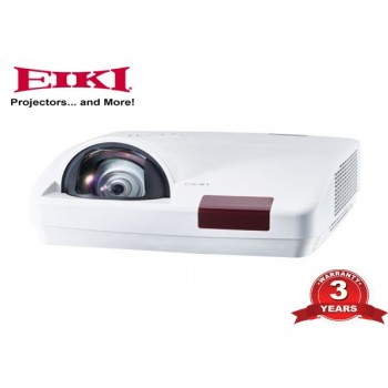 EIKI M1 Short Throw Interactive Projector - 3.3K AL, WXGA, 3 Years Warranty