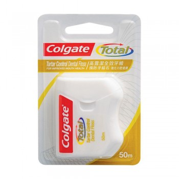Colgate Dental Floss with Tartar Control 50m