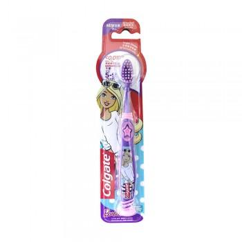 Colgate Kids Barbie Toothbrush 5-9 Years