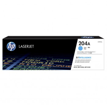 HP 204A Cyan LaserJet Toner Cartridge